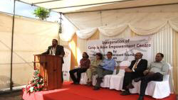 Inauguration of Empowerment Centre, Camp la Boue, Terre Rouge